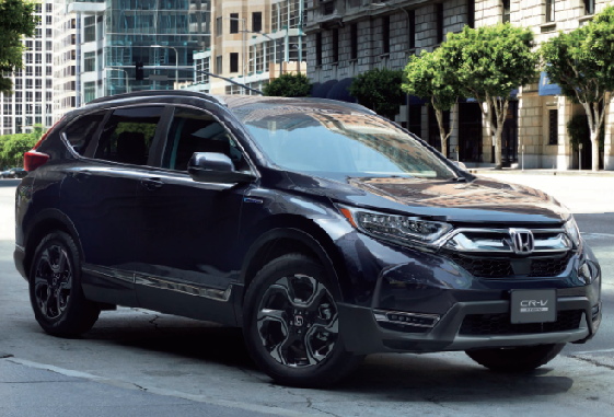 ALL NEW CR-V 登場!