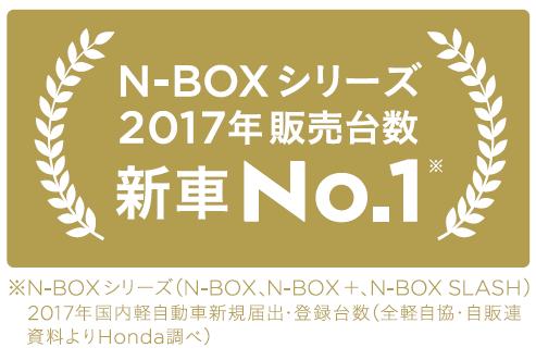 N-BOX がいちばん選ばれました!